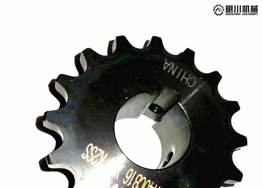 ANSI Metric Bore Sprockets , Chain Roller Sprocket For Food Processing Industry