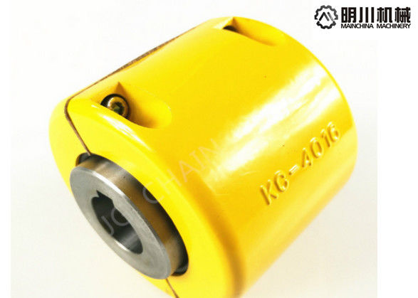 Steel 5018 Double Chain Coupling , Roller Chain Shaft Coupling Easy Installation