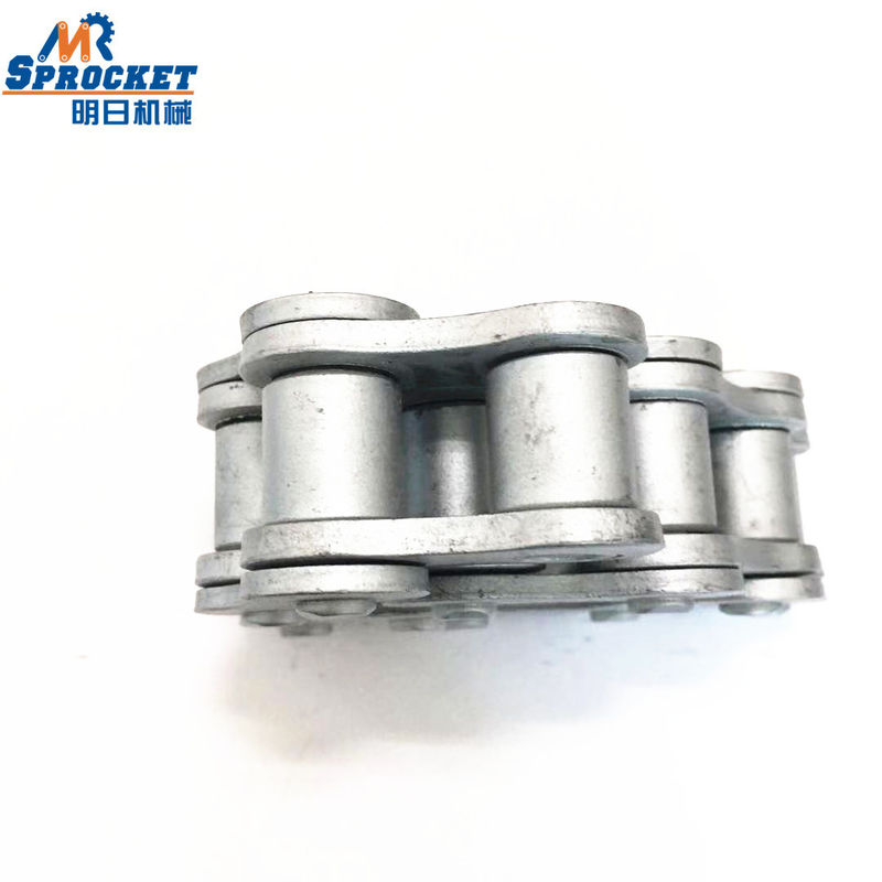 Short Pitch Precision Sprocket Transmission Roller Chain Forged For Food Processing